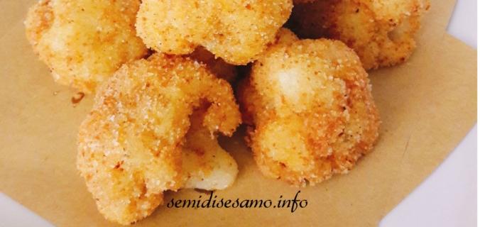 Cavolfiori impanati fritti o al forno 1