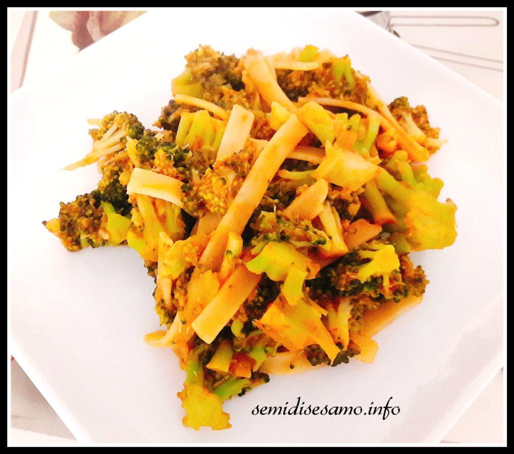pasta rossa ai broccoli