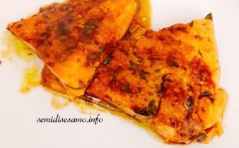 Trota salmonata curcuma e salsa di soia 1